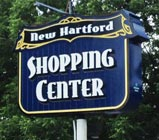 Sample Shopping Center Sign